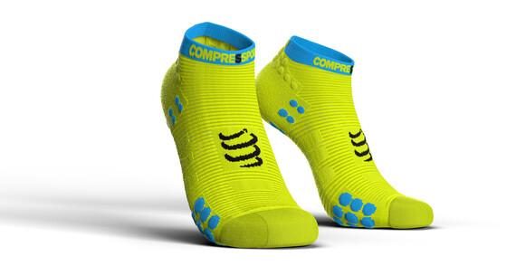 Compressport Pro Racing V3.0 Run Low Socks Fluo Yellow